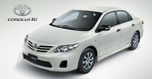 corolla available for rent to northern areas